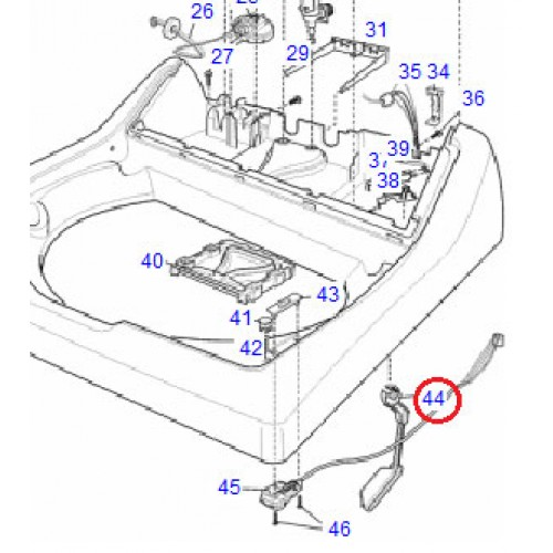 119245300 Knock Off Lever