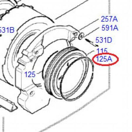 1320552-00/1 Clamping Ring