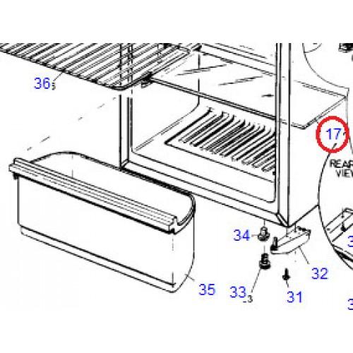 1403701 Glass Shelf