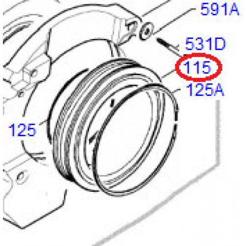 3790201-40/8 Rubber Bellows