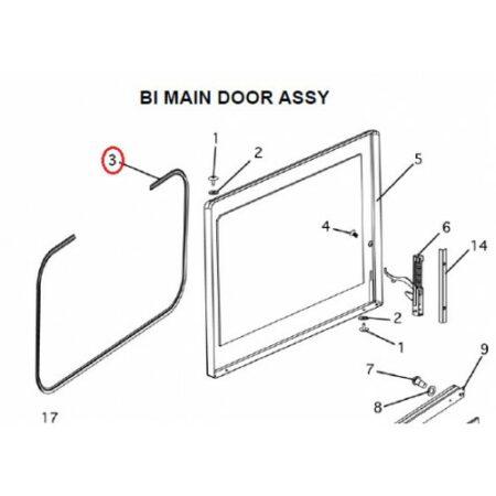 447535 Inner Door Gasket