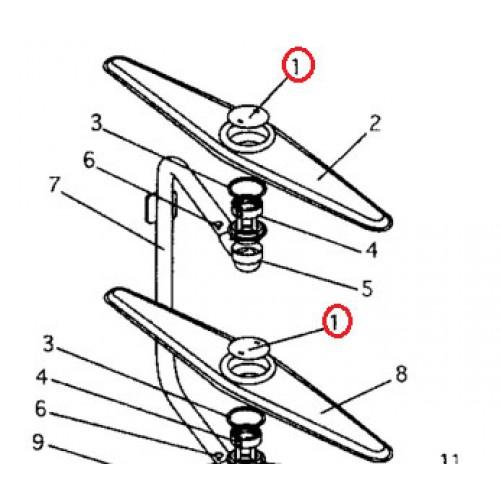 521055 Spray Arm Retainer