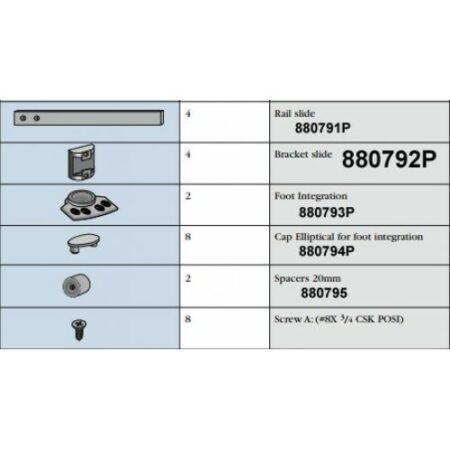 880792P Slide Bracket