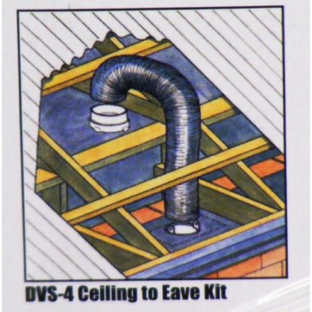 DVS4 Ceiling to Eave kit
