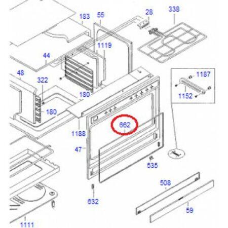 ET406072 Oven Door Gasket