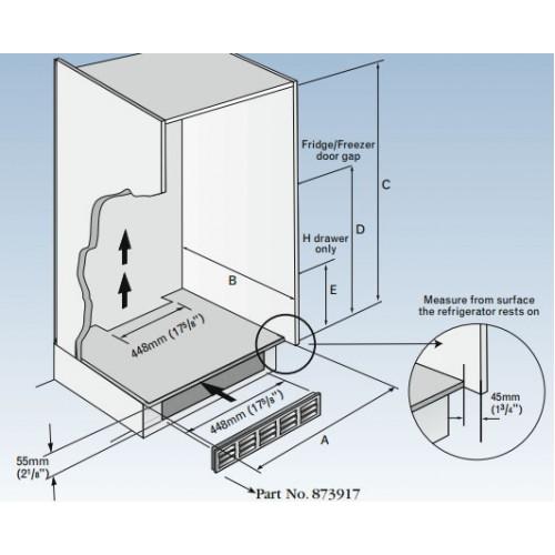 873917 Ventilation Grill